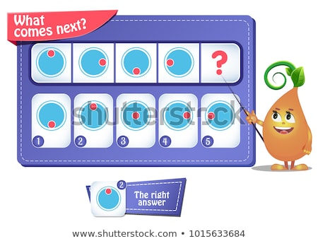 game iq comes next puzzle riddle Stock photo © Olena
