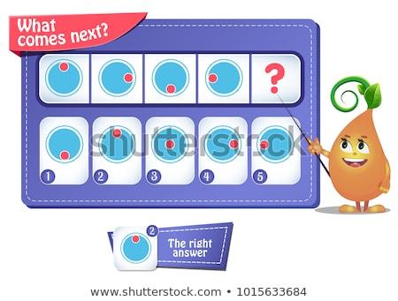 game iq comes next puzzle riddle stock photo © olena