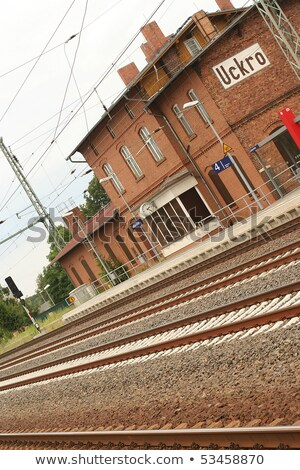 Gunfighter at the train station. Stock photo © antonio_gravante