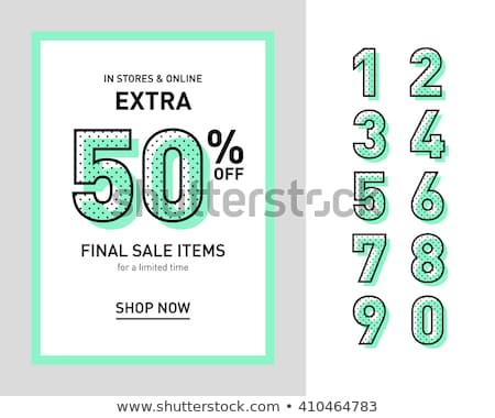 スーパー 販売 40 パーセント オフ 宣伝広告 ストックフォト © robuart