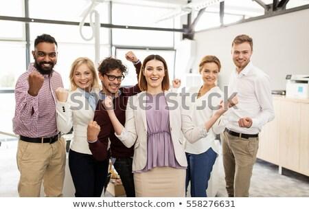 Startup werken mensen overwinning geslaagd team Stockfoto © robuart
