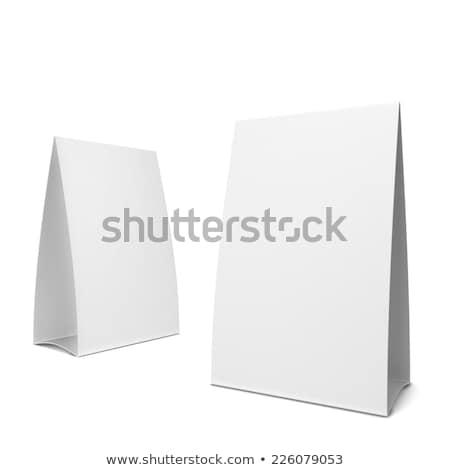 Tent 3d illustration geïsoleerd witte business partij Stockfoto © montego