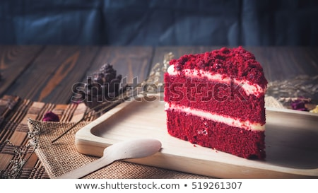 red velvet cake Stock photo © olira
