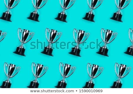 Beaucoup champion trophée or couleur Photo stock © carenas1