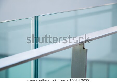 Stainless Railing Stock photo © bobkeenan