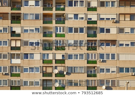 apartment building in budapest stock photo © fazon1