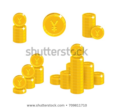heap of chinese yuan Stock photo © zkruger