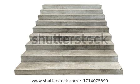 épület · lépcső · fa · fal · otthon · keret - stock fotó © paha_l