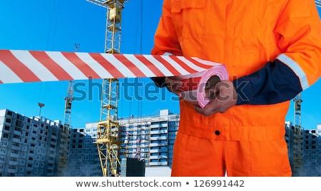 voorzichtigheid · niet · teken · politie · recht - stockfoto © olira