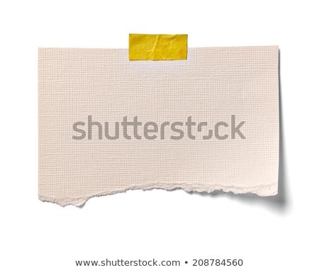 inhoud · gescheurd · papier · woord · achter · gescheurd · pakpapier - stockfoto © deyangeorgiev
