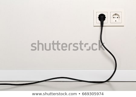 The cable with plug Stock photo © Traven