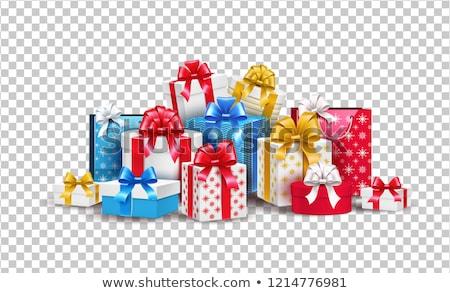 ギフトボックス ビッグ プレゼント 孤立した 白 ストックフォト © kbfmedia
