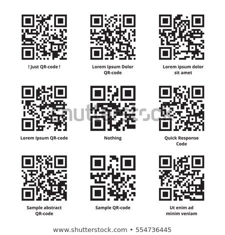 sample text barcode Stock photo © ojal