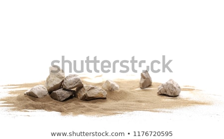 Arena rocas jóvenes dama bikini pie Foto stock © mtoome