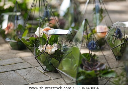 Flower arrangement in beautiful interior setting Stock photo © 3523studio
