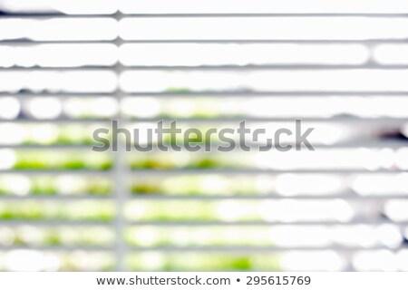 ブラインド · ぼやけた · 水平な · ブラウン · 抽象的な · 光 - ストックフォト © Procy
