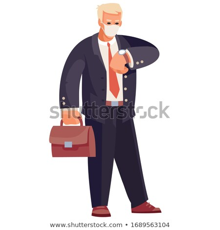 businessman consulting his watch Stock photo © photography33