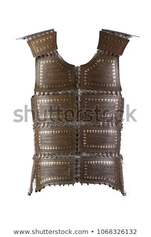 Medieval armadura edad estilo cuerpo metal Foto stock © carloscastilla
