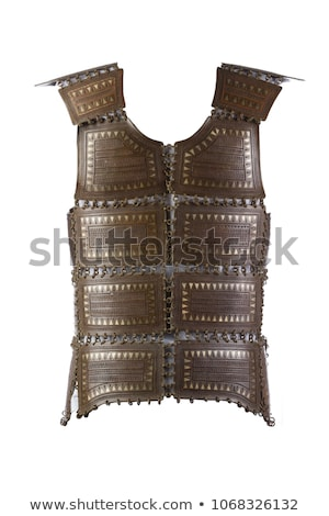 Middeleeuwse pantser oude stijl lichaam metaal Stockfoto © carloscastilla
