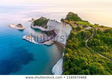 Seascape of Corfu Stock photo © Gbuglok
