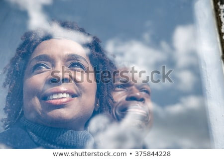 retraite · planification · financière · symbole · deux · vide · bleu - photo stock © lightsource