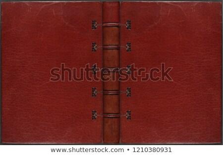 Old worn vintage book stock photo © Farina6000