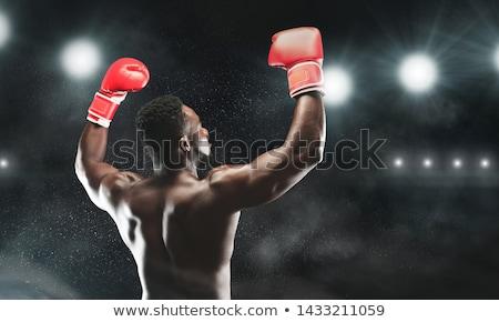montare · muscolare · uomo · bicipiti · bianco · sexy - foto d'archivio © stockyimages