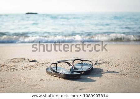 romantique · coucher · du · soleil · grec · mer - photo stock © pxhidalgo