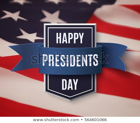 President Day in United States of America brochure template desi Stock photo © bharat