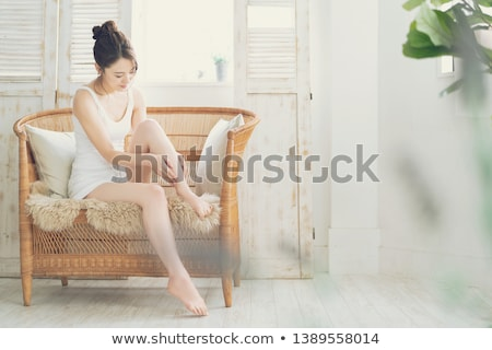 Szépségápolás női láb kezek divat szépség Stock fotó © Nobilior