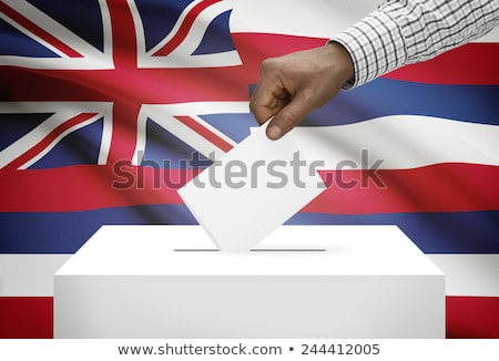 Ballot box Hawaii Stock photo © Ustofre9