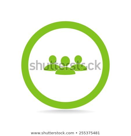 persone · umani · uomini · vetro · verde - foto d'archivio © mOleks