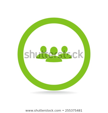 Mensen menselijke mannen glas groene Stockfoto © mOleks