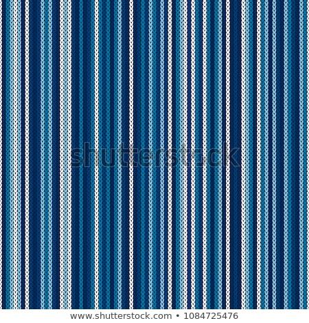 a · rayas · de · punto · textura · tejido · fondo - foto stock © es75