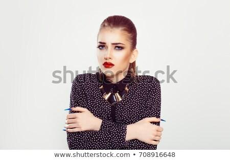 I am trying ponytail.  Stock photo © stockyimages