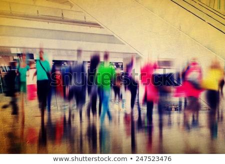 pessoas · multidão · movimento · cidade · cena · mulheres - foto stock © stevanovicigor