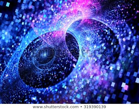 Cyfrowo wygenerowany kolorowy pęcherzyki streszczenie Zdjęcia stock © stryjek
