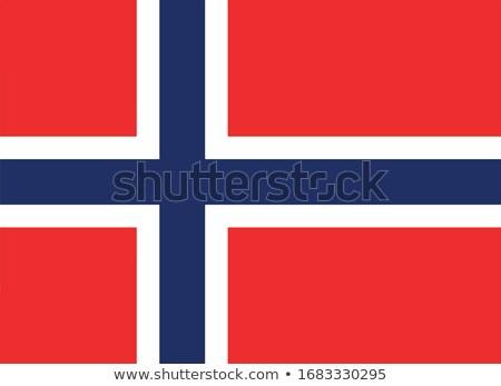 Canadá Noruega bandeiras quebra-cabeça isolado branco Foto stock © Istanbul2009