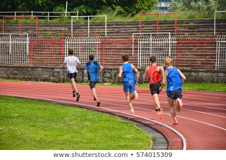 Photo of tracks Stock photo © bezikus