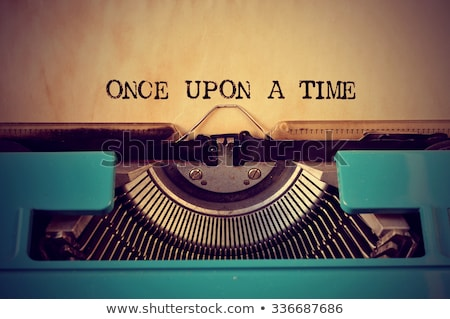 the end text on old typewriter stock photo © stevanovicigor