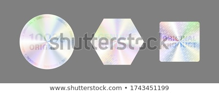 Certificado amarelo vetor ícone projeto digital Foto stock © rizwanali3d