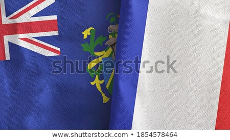 France and Pitcairn Islands Flags Stock photo © Istanbul2009