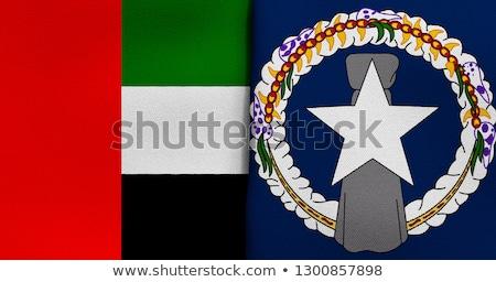 Объединенные Арабские Эмираты флагами головоломки изолированный Сток-фото © Istanbul2009
