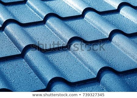 Сток-фото: металл · крыши · плитка · дома · текстуры