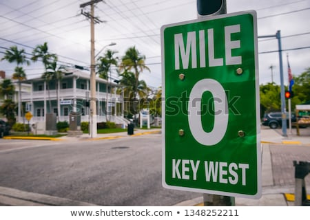 Флорида · шоссе · знак · высокий · разрешение · графических · облаке - Сток-фото © meinzahn