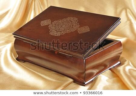 木製 ボックス クローズアップ ストックフォト © alrisha