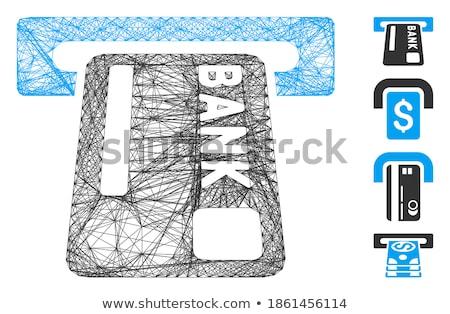 билета икона иллюстрация дизайна фильма знак Сток-фото © kiddaikiddee