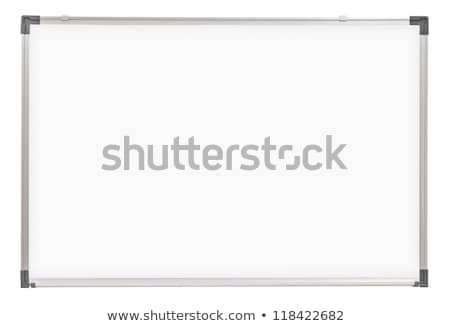 Whiteboard cutout Stock photo © DragonEye