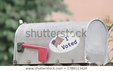 Roubado votar político eleição corrupção político Foto stock © Lightsource