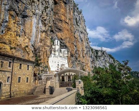Черногория · пейзаж · мнение · монастырь · Церкви - Сток-фото © Steffus
